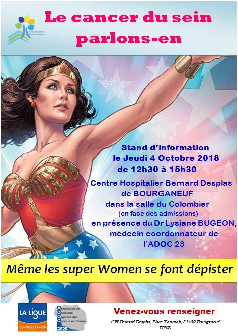 Affiche cancer du sein